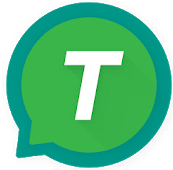 T2S logo - green circle with a white capital T