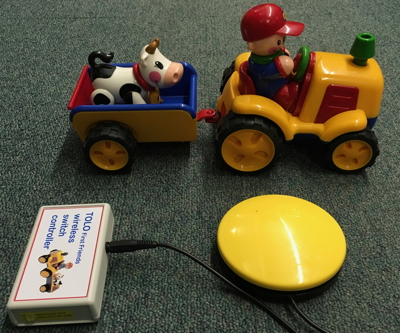 Tolo toy tractor