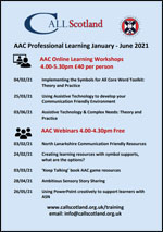 AAC Professional Learning January - June 2021