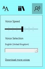 Scottish Computer Voices and Microsoft Immersive Reader