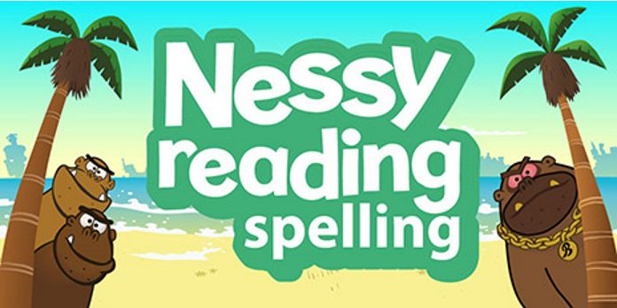 screen shot of Nessy reading and writing
