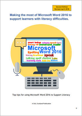 Making The Most Of Microsoft Word 2016 To Support Learners With Literacy Difficulties